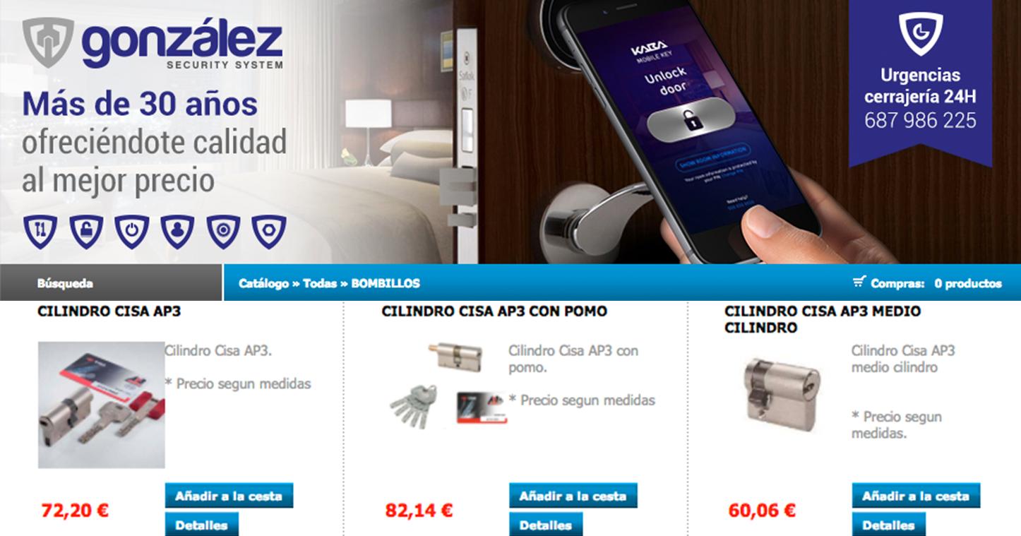 www.tienda.ferreteriagonzalez.com, sección bombillos