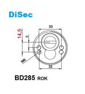 ESCUDO DISEC BD285 ROK