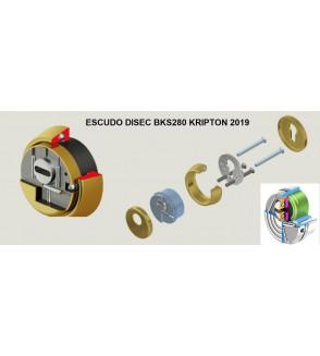 ESCUDO DISEC KRIPTON BKS NUEVO 2019