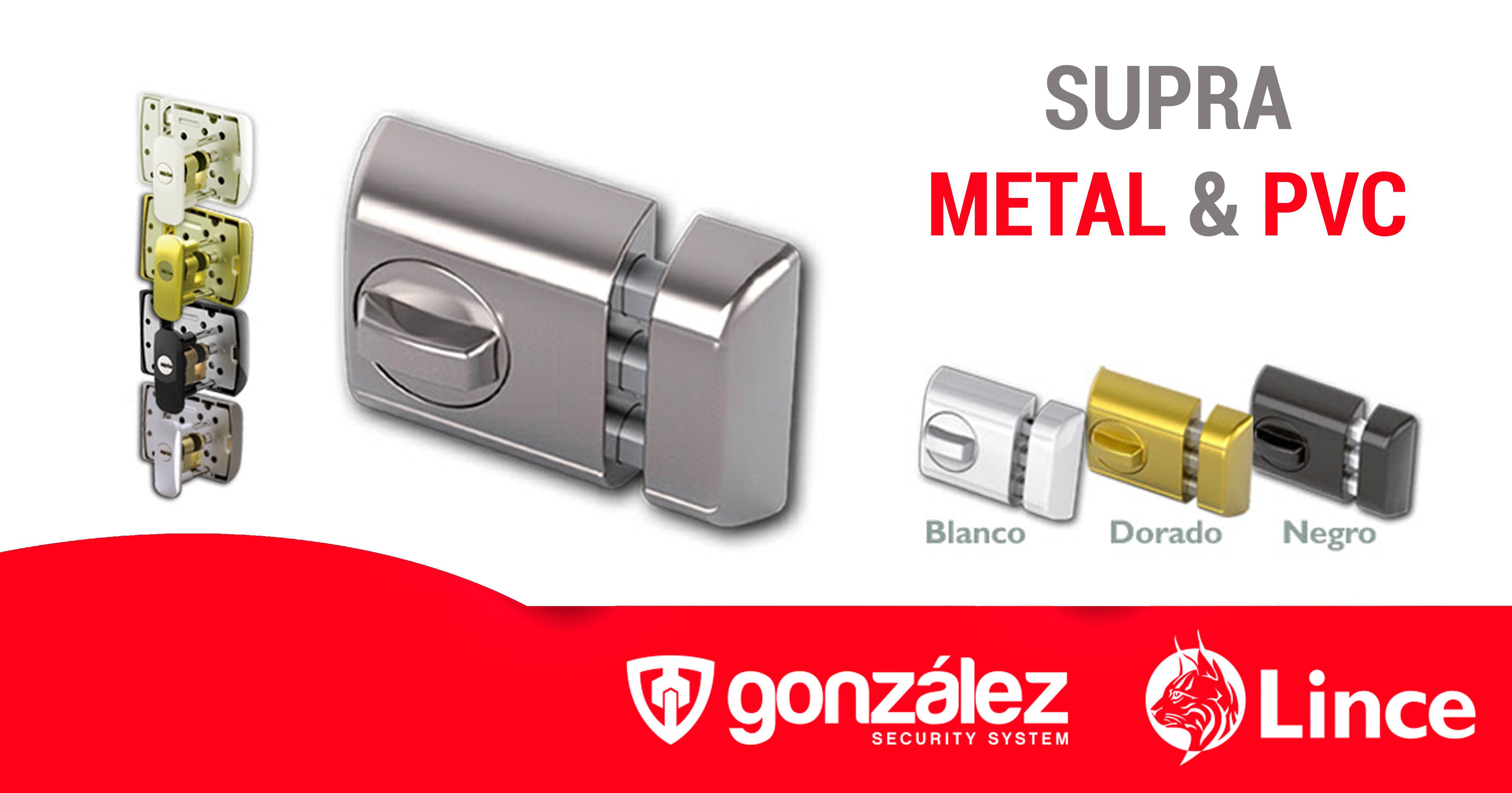 Supra Metal & Pvc, la seguridad más avanzada para puertas de aluminio y pvc
