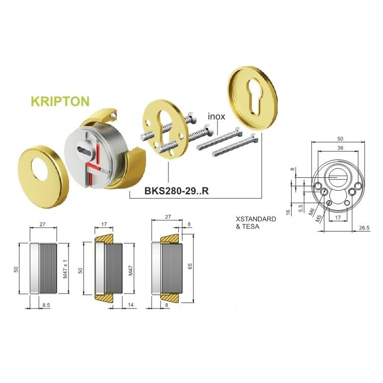 Escudo protector Disec BKS280 Kripton 2019