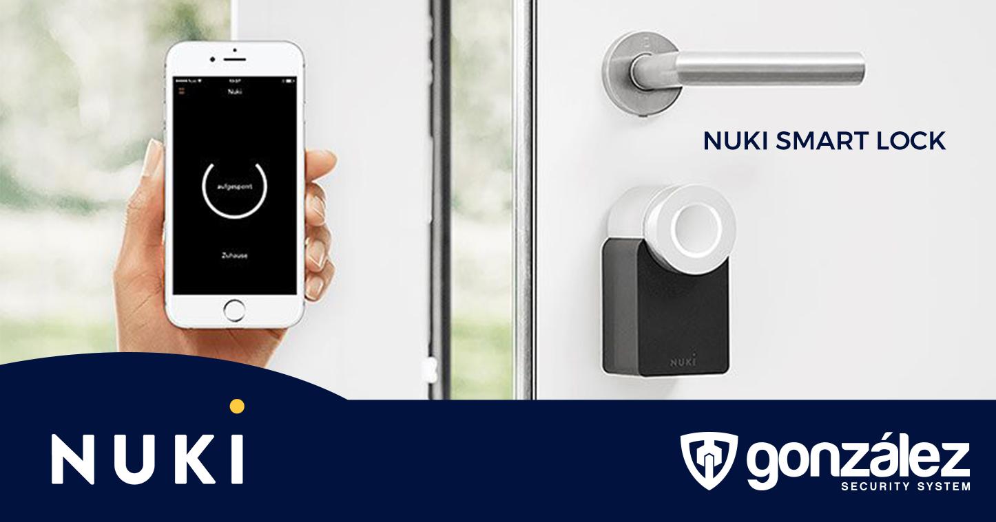 Con NUKI SMART LOCK convierte tu cilindro de alta seguridad en un sistema de control inteligente desde tu teléfono
